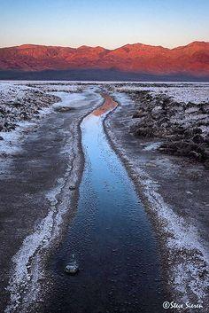 Death Valley Salt Borax Creek   Flickr - Photo Sharing! by Steve Sieren