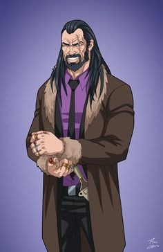 Vandal Savage (Earth-27) commission by phil-cho on DeviantArt