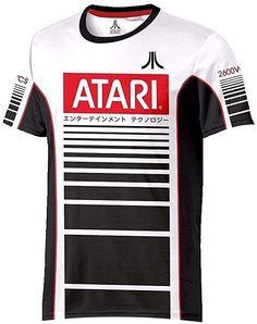 Atari 80s Gaming T-shirts | SimplyEighties.com Bad Video, Vector Game, Video Game Industry, Sport T Shirt, Atari Logo, Tees, Shirts, Gaming, Retro