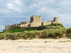 castles in Northumberland   Bamburgh Castle in Northumberland   g o i n g · p l a c e s