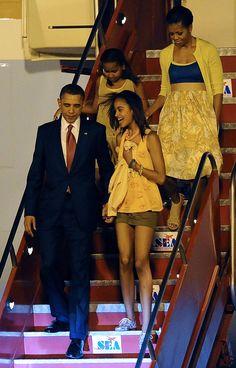 Matching family Obama! Heel mooi