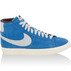 0fc733a055a Nike Blazer Mid Premium Vintage Women's Shoes Blue White,Fashion sneakers  color and style must be of your interest.