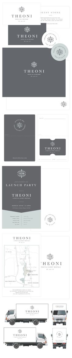 Brand Launch: Theoni Collection | Designed by Salted Ink | Brand Designer, Branded Print Material, Print Design Brand Stylist, California, Napa Valley, Graphic Designer, Branding, Logo Designer | www.saltedink.com