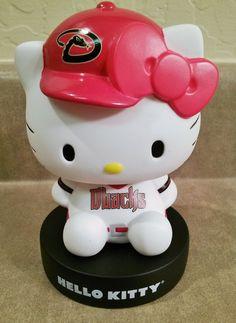 Arizona Diamondbacks Hello Kitty bobblehead.