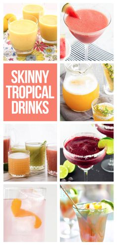 Sip sweet drinks at your backyard parties with summer without ruining your diet.