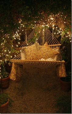 this makes me want to sleep outside!