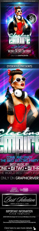 Delicious Nightclub (Flyer Template 4x6)   Nightclub, Flyer ...