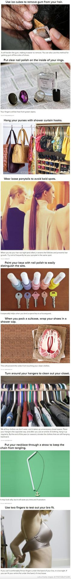 Life Hacks Every Girl Should Really Know About