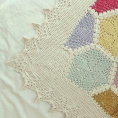 My Hexagon Blanket!