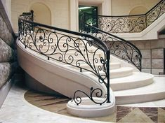 18 Best Ideas For Wrought Iron Stairs Railing Indoor Stair Railing Ideas ideas I Stairs Design Modern Ideas Indoor iron Railing Stair Stairs wrought Iron Handrails, Wrought Iron Stair Railing, Iron Staircase, Balustrades, Staircase Railings, Banisters, Staircases, Indoor Stair Railing, Modern Stair Railing