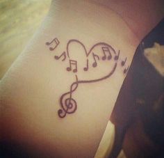 Love for music on your wrist