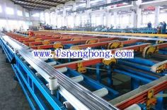 handing system for aluminum extrusion