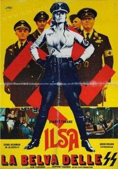Ilsa, She Wolf of the SS  http://beatilotofagi.blogspot.it/2014/06/la-pupa-e-laltro-dyanne-thorne.html  #poster #posterart #splatter #nazisploitation #exploitation #womeninprisonfilm #womeninprison