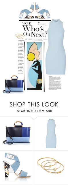 """""""Vogue: Who's Next"""" by emcf3548 ❤ liked on Polyvore featuring Tory Burch, Elizabeth and James, Fendi and Madewell"""