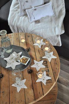 Simples, créatifs et festifs ces dessous de verres DIY de Noël