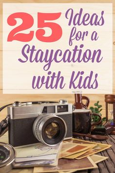 Ideas to make your staycation at home more exciting. This big list of family activities will be fun for couples with kids or without, during summer or on Spring Break. These tips offer plenty of cheap things to do, as well as some creative ways to spend you weekend free time.