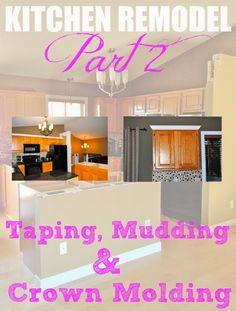 Taping, Mudding & Crown Molding
