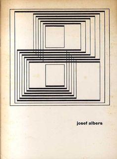 Josef Albers. Stedelijk Museum Amsterdam 10 Maart - 10 April 1961