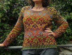 all about color yarn: июля 2011 Crochet Hooks, Knit Crochet, Fair Isle Knitting Patterns, Ravelry, Pullover, Knitting Projects, Knitting Ideas, Yarn Colors, Knitting Needles