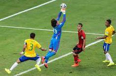 Goal keeping heroics by Ochoa vs Brazil
