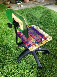 Skateboard Chair.