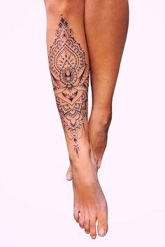 23 Sexy Leg Tattoos for Women You'll Want to Copy Shin Tattoo, Cuff Tattoo, Leg Sleeve Tattoo, Piercing Tattoo, Calve Tattoo, Piercings, Girl Leg Tattoos, Best Leg Tattoos, Foot Tattoos