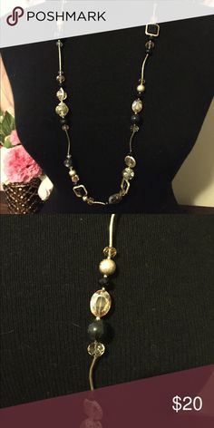 Beautiful necklace Long necklace with stones, picture doesn't do it justice Jewelry Necklaces