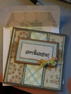 Birthday card. #handmade #lindsaymichaeldesigns