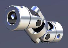 Universal Joint - STL, SOLIDWORKS - 3D CAD model - GrabCAD