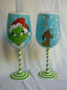 Candleholder wine glass