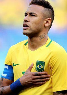 "reymwrjr: """" Brazil v South Africa: Men's Football - 2016 Olympic Games . "" """
