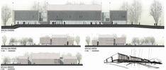 Segundo Lugar no Concurso Nacional de Anteprojetos para o Centro Cultural da Assembleia Legislativa de Neuquén / Argentina,Vistas