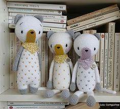 Gudule et Hulotte | Lulu Compotine - doudous au crochet