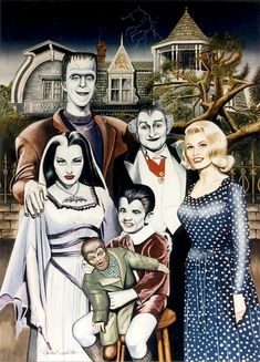 Vampira plan 9 | More Things Than Are Dreamt Of: MORTICIA, VAMPIRA, LILY MUNSTER ...