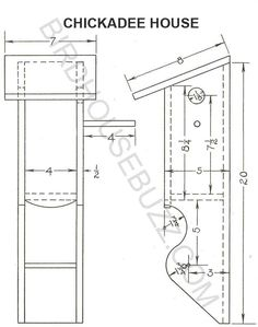 5. Robin Bird House Plans. robins and cardinals like an open bird ...