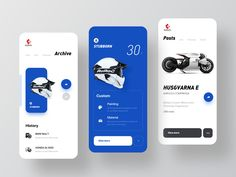 Barbara Motorcycles designed by ZhaoWei for UIGREAT Studio. Connect with them on Dribbble; the global community for designers and creative professionals. Web Design, App Ui Design, User Interface Design, Android Design, Flat Design, Graphic Design, Concept Bmw, Application Ui Design, Ui Design Mobile