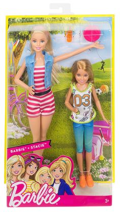 Barbie Sisters Barbie & Stacie Dolls 2 Pack Brand New Fast Postage Barbie Stacie Doll, Barbie Chelsea Doll, Barbie Doll Set, Barbie Skipper, Doll Clothes Barbie, Barbie Doll House, Barbie Dream, Barbie Stuff, Barbie Kids