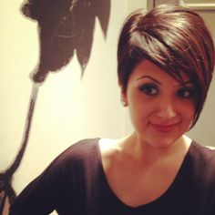 My new (short) haircut inspired by Frankie Sandford. Shout out to Stacy Xiong of Viselli Santoro salon in Boston!