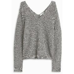 RAG BONE Willa Knit Jumper ($281) ❤ liked on Polyvore featuring tops, sweaters, v-neck sweater, multi color sweater, knit top, lightweight sweaters and v-neck tops