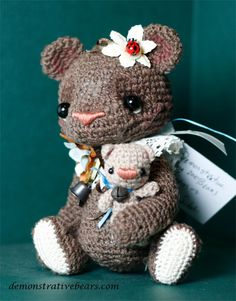 ~Charm~ by Demonstrative bears and friends by cindysickler, via Flickr