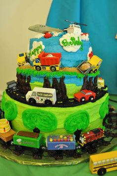 Planes, Trains, and Automobiles Birthday Party Ideas | Photo 1 of 44 | Catch My Party