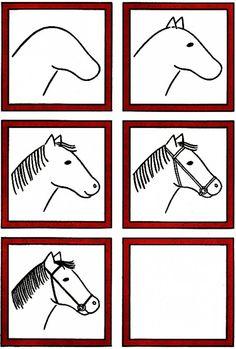 Teken een paard