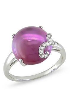 *** Purple Pearl Ring - Jewelry | Bling - Jewelry     love this