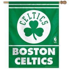 "Boston Celtics Vertical Flag 27"" x 37"""