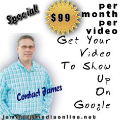 Get Your YouTube Video ranked for your organization or business.  Show up on Google!  Send an email to james@jjmediaonline.net or contact us through jjmediaonline.net  #video #local #business #seo #videoranking #hobesound #martincounty #treasurecoast #jupiter #stuart #tequesta