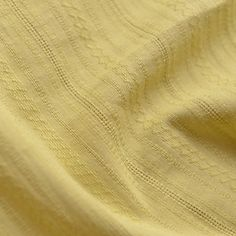 Yellow Striped Cotton Fabric MJ440 by Sewingworld on Etsy