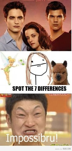 Spot the seven differences..... Twilight