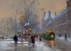 Edouard Leon Cortes (1882-1969) France