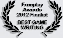 Infinite Universe was a finalist for Best Game Writing in the Freeplay Awards Infinite Universe, Best Games, Awards, Writing, Being A Writer, Letter