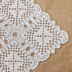 Online Marketing Strategies For Interior - DIY & Crafts Filet Crochet, Crochet Mat, Crochet Home, Thread Crochet, Crochet Tablecloth Pattern, Granny Square Crochet Pattern, Crochet Stitches Patterns, Crochet Squares, Lace Doilies